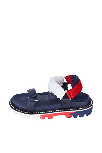 Tommy Hilfiger Kadın Mavi Sandalet Color Pop Tommy Jeans Sandal EN0EN01342