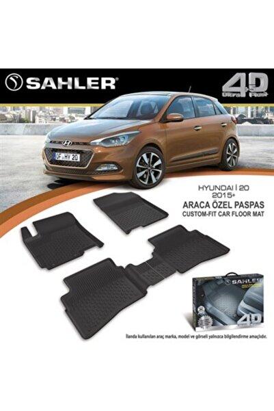 Sahler 4.5d Lüks Paspas Hyundai I20 2015-2018 Siyah