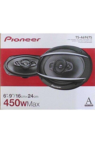 Pioneer Pıoneer Ts-a6967s 450 90watt Rms 4 Yollu Araba Oval Hoparlör (2 Adet) 2020 Seri Vietnam Üretimi