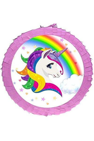 Happyland Unicorn Gökkuşağı Pinyata Ve Sopası