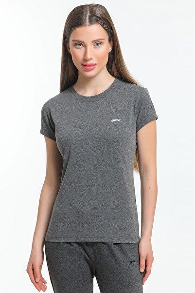 Slazenger Move Kadın T-shirt Antrasit