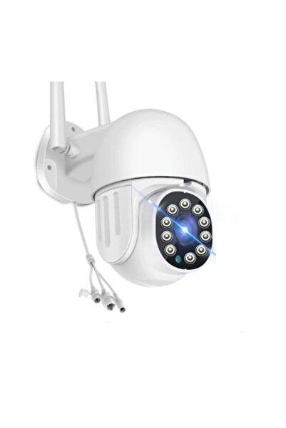 Kakusan 360 Dönebilen Kablosuz Wifi Ip Kamera Speed Dome 1080p Full Hd 2 Mp Gece Görüşlü Hareketli Dış Mekan