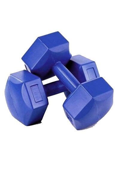 AVESSA Mavi Scucs 10 Kg Dambıl Set 2 Adet Toplam 20 kg