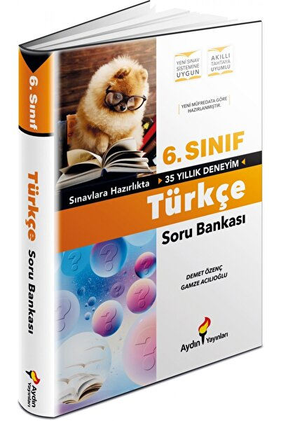 Aydın Yayıncılık Aydın Yayınları 6.sınıf Türkçe Soru Bankası