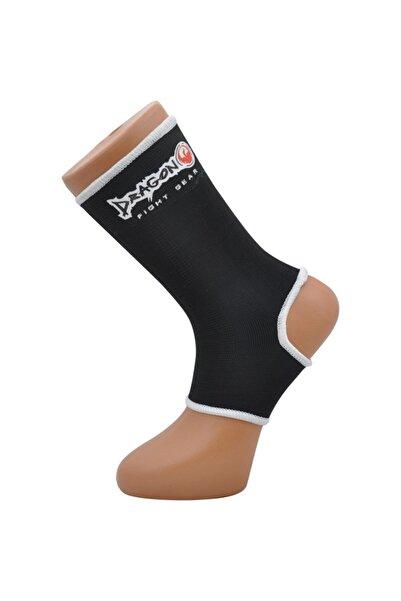 Dragon Muay Thai & Kickboks Çorabı, Ayak Bilek Koruyucu Siyah