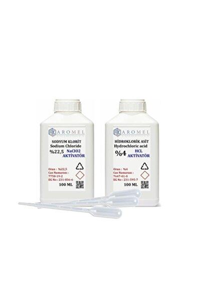 Aromel Mms Set | %4 Hidroklorik Asit | %22,5 Sodyum Klorit 100 Er ml Set