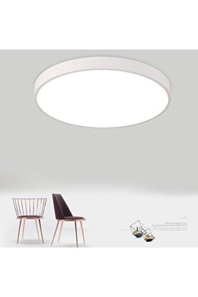 ADALED Sıvaüstü Led Beyaz Işıklı 6500 K Yuvarlak Kasalı Panel 24 Watt Tavan Armatür