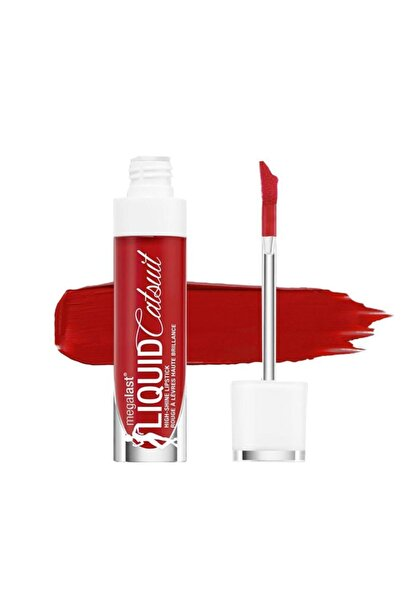 WET N WİLD Megalast Liquid Catsuit High-shine Lipstick Bad Girl's Club