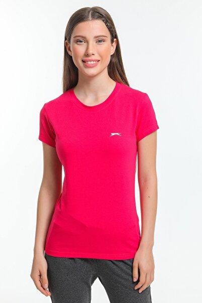 Slazenger Move Kadın T-shirt Fuşya