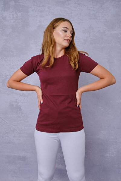 kuvvettekstil Kadın T-shirt