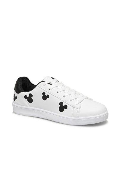 Mickey Mouse Kadın Beyaz Sneaker