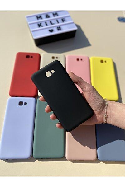 MM KILIF AKSESUAR Samsung Galaxy J7 Uyumlu  Siyah Prime Silikon Lansman Kılıf