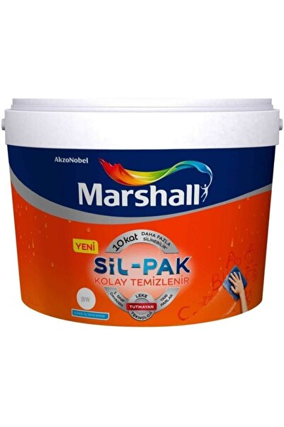 Marshall Sil-pak Silikonlu Yarı Mat Iç Cephe Duvar Boyası 15 Lt..