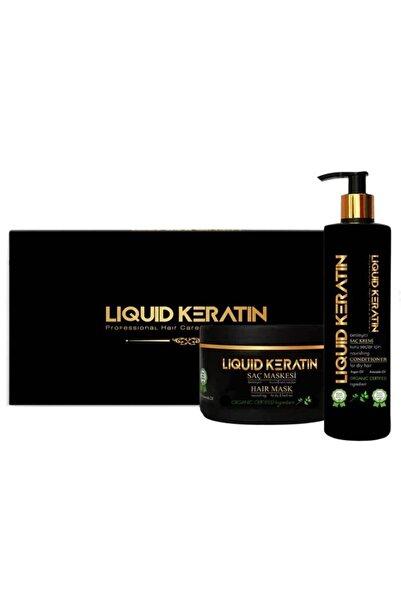 Liquid Keratin Kabaran Saçlara Saf Keratinli Çözüm Seti