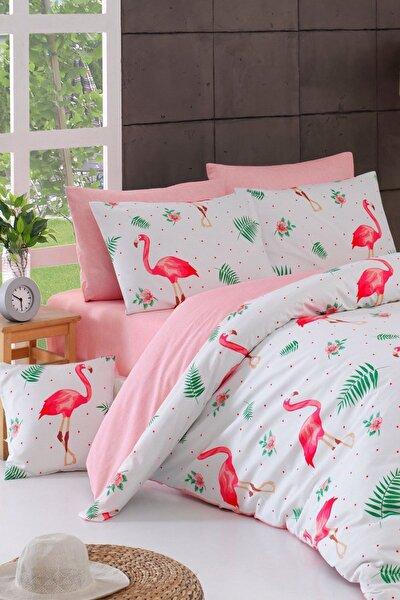 Loyal Home Tek Kişilik Nevresim Takımı Flamingo