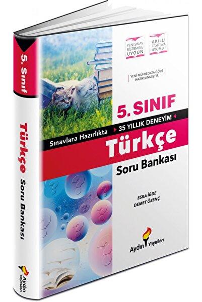 Aydın Yayıncılık Aydın Yayınları 5. Sınıf Türkçe Soru Bankası