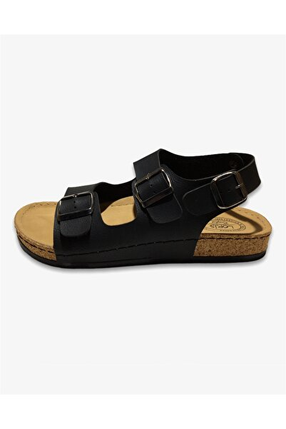 Loris Erkek Siyah Sandalet