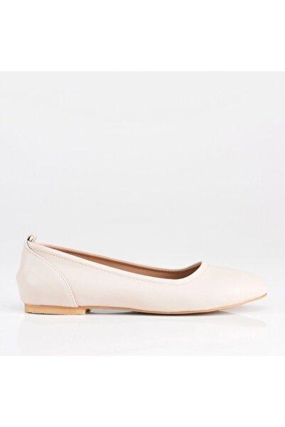 Hotiç Bej Yaya Kadın Günlük Ayakkabı