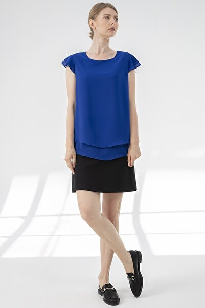 Journey Kadın Lacivert Bluz