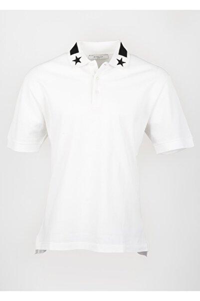 Givenchy Erkek Beyaz Kısa Kollu T-shirt