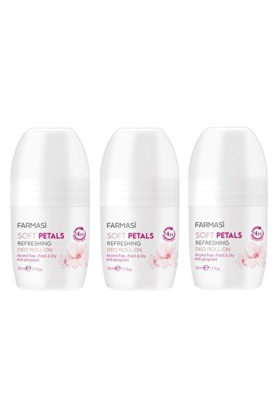 Farmasi Soft Petals Kadın Roll-on 50 Ml X 3 Adet