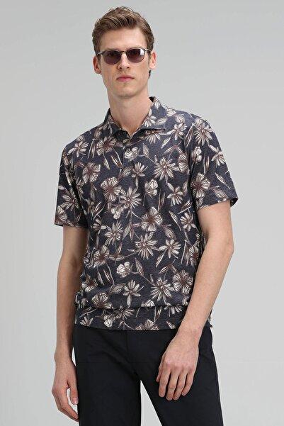 Lufian Oliver Spor Polo T- Shirt Antrasit