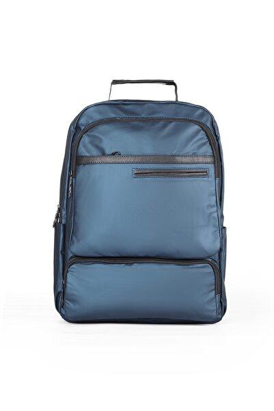 ASLAN ÇANTA Unisex Lacivert Laptop Notebook Sırt Çantası