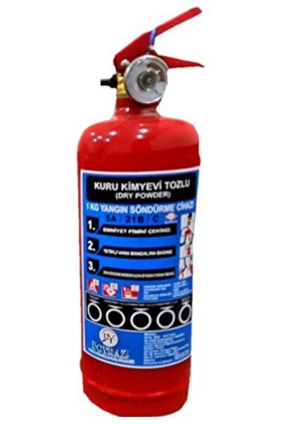 POYRAZ Abc Tozlu Yangın Söndürme Tüpü 1kg