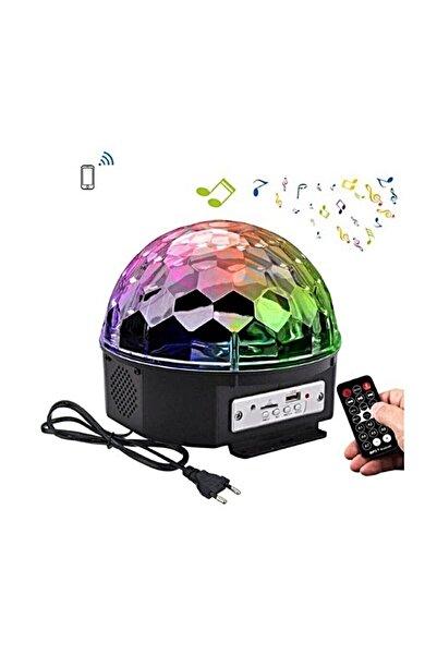 Rozia Küre Disko Topu Usb Girişli Müzik Çalar Renkli Lazer Işıklı