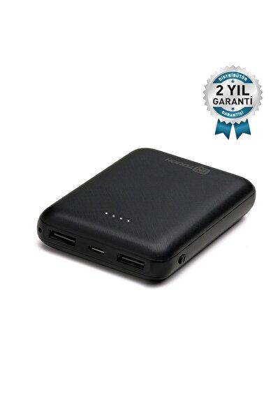 İntouch Basic 10.000 Mah. 2 Çıkışlı Taşınabilir Sarj Cihazı Powerbank Siyah