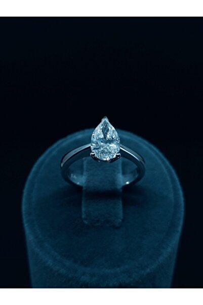 Ayseb Diamond Ayseb 1,55 Ct H/vs Pear (damla) Tektaş Yüzük
