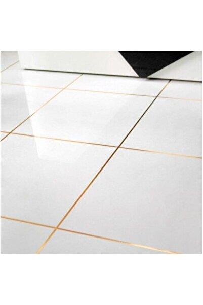 Emofom 0,5 Cm X 50 Metre Gold Fayans Arası Şerit Ev & Duvar Dekorasyon Bandı