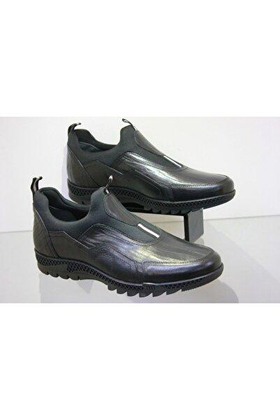 MARCOMEN Hasan Şebay 10399 Erkek Bağsız Saf Deri Streçli Spor Ayakkabı