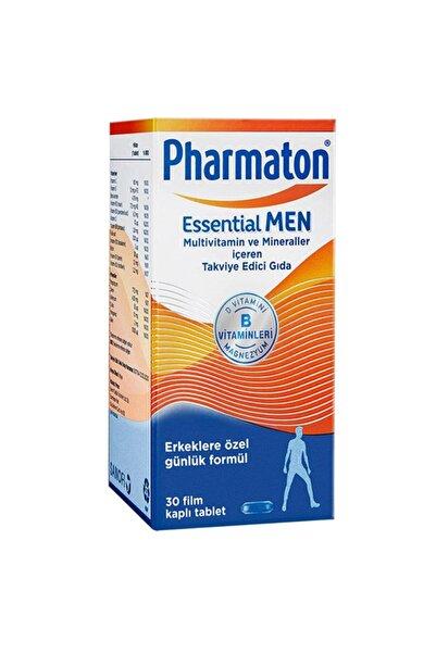 Pharmaton Essential Men Multivitamin ve Mineraller İçeren Takviye Edici Gıda 30 Kapsül