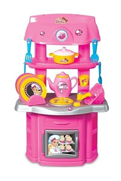 DEDE Barbie Şef Mutfak Seti