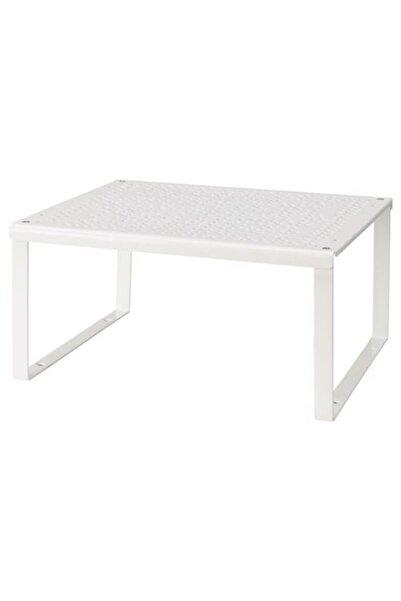 IKEA Mutfak Dolabı Düzenleyici ,beyaz 32x28x16 Cm Meridyendukkan Dolap Içi ,raf Düzenleyici