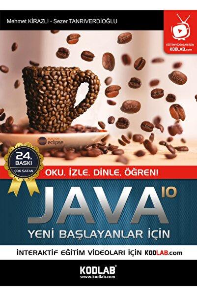 Kodlab Yayın Dağıtım Java 10 Yeni Başlayanlar Için & Oku, Izle, Dinle, Öğren