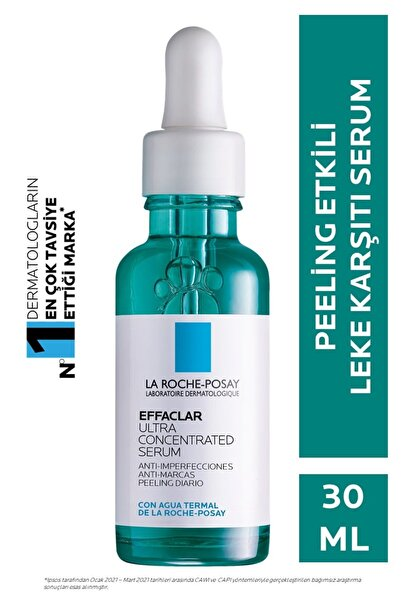 La Roche Posay Effaclar Peeling Etkili Leke Karşıtı Serum Yağlı ve Akneye Eğilm Gösteren Ciltler için 3337875722827