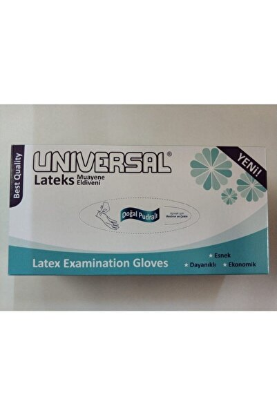 Universal Lateks Eldiven Az Pudralı 100'lü Small-medium