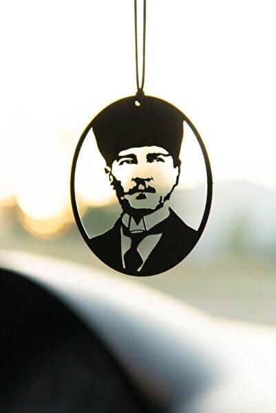 Jön Metal Araba Süsü Metal Mustafa Kemal Atatürk Dikiz Aynası Süsü
