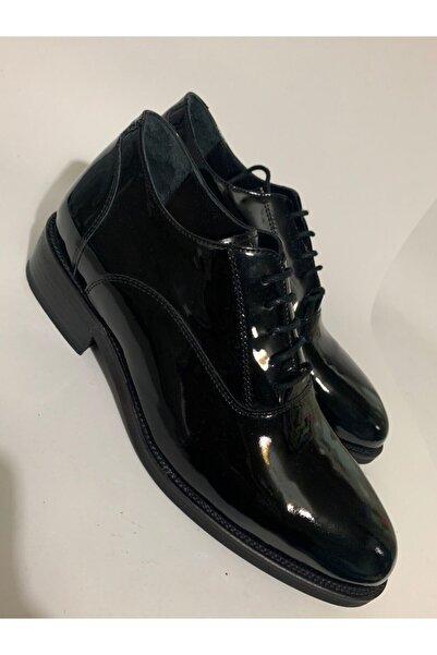 GİZLİ TOPUKLAR Erkek Siyah Gizli Topuklu Boy Uzatan Ayakkabı