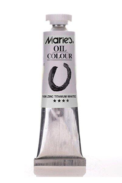 Maries 106 Zınc Tıtanıum Whıte 50 ml Orta Boy 1 Adet
