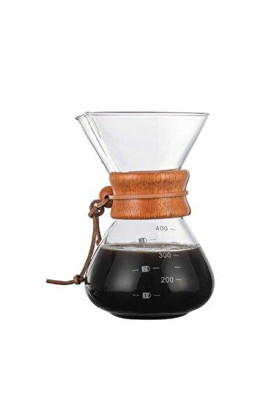 NURGAZ Campout Filtre Kahve Cam Set 400 Ml