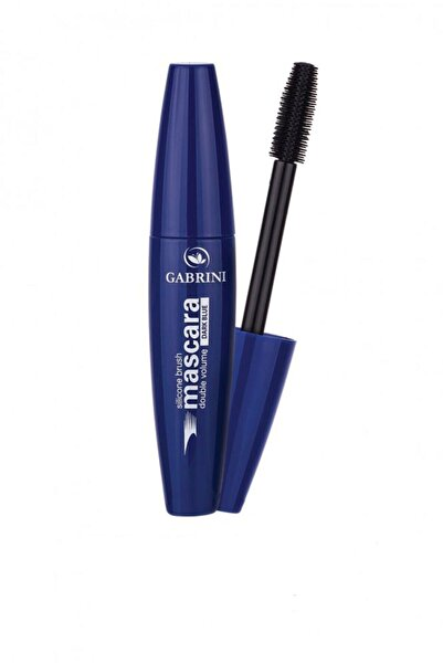 Gabrini Hacim Veren Mavi Maskara - Silicone Brush Blue Mascara 8696814061485