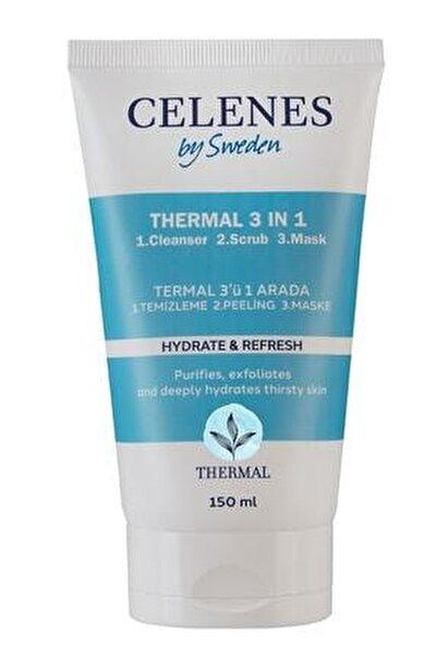 Celenes Thermal 3in1 Peelıng-maske-temızleyıcı 150ml Tum Cıltler