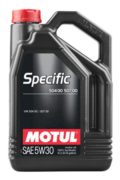 Motul Specific 504 00 507 00 5w30 5 Litre (10.02.2021 Üretim Tarihli)