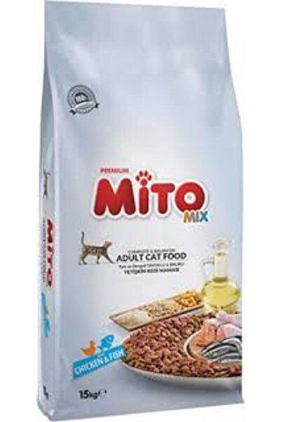 Mito Mix Kedi Maması 15kg