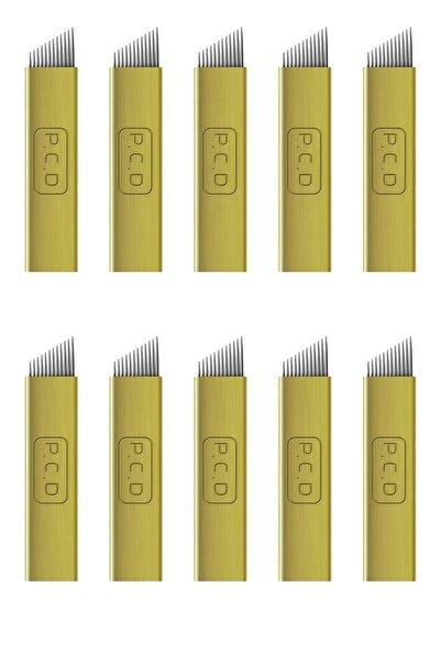 Pcd Microblading Iğnesi 14 Pin 10 Adet