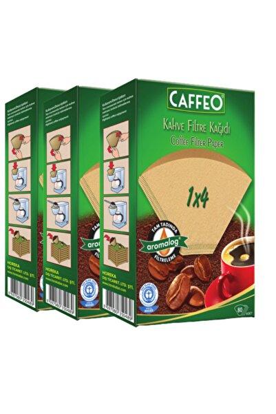 Caffeo Kahve Filtresi 1x4/80(3 PAKET-240 ADET)