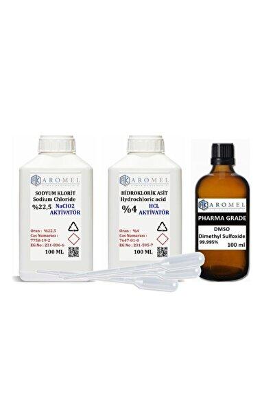 Aromel Mms Set | Dmso | %22,5 Sodyum Klorit | %4 Hcl 100 Er ml Set